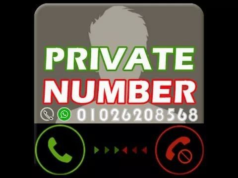 private Number 01026208568